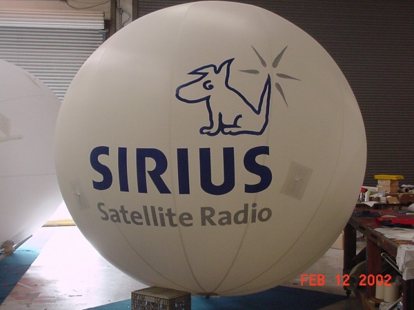 Inflatable Helium Sphere