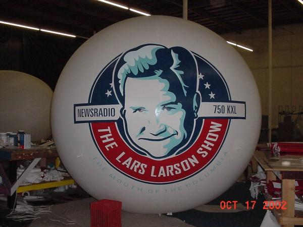 Digital Sphere Balloon