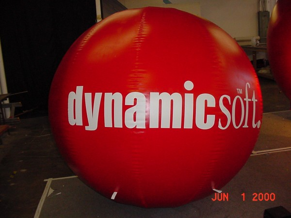 Inflatable Advertising Sphere