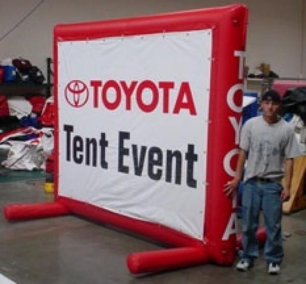 Auto Billboard Inflatable