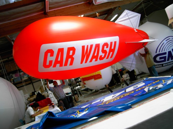 Car Wash Blimp
