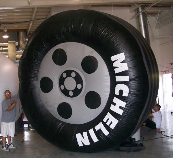 Michelin Tire Inflatable