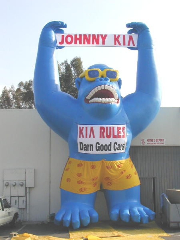 Giant Inflatable Gorilla